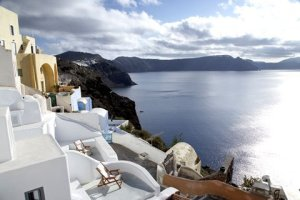 Oia Blue Villa, Santorini, Greece